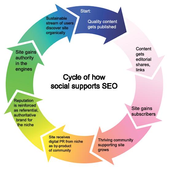 Social SEO Cycle