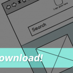 Free mobile wireframe download